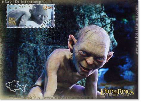 2.00 dollar postcard design: Gollum wants my precious