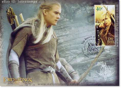 40 cent postcard design: Legolas Greenleaf