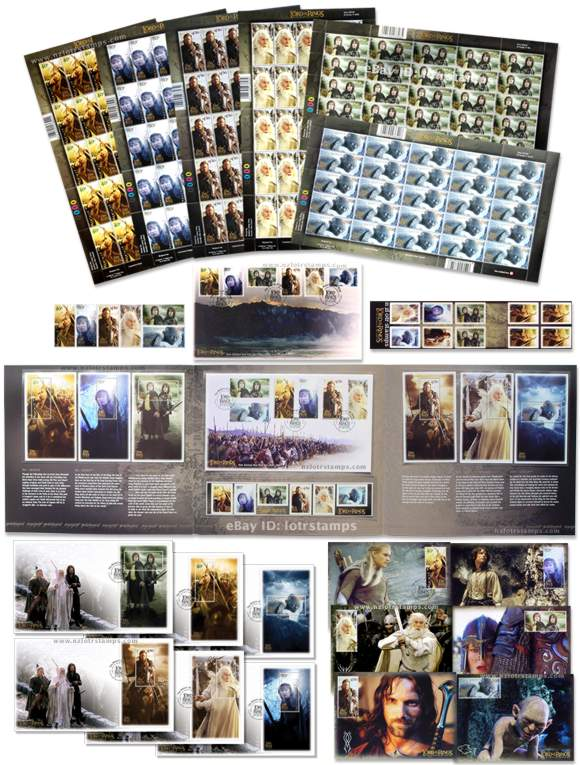 Ultimate Collection includes 8 first day covers, 6 maximum cards, 156 gummed stamps...