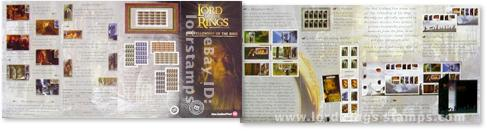 Fellowship of the Ring stamps brochure